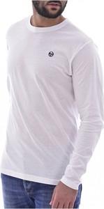 T-shirt Sergio Tacchini z bawełny z długim rękawem w stylu casual