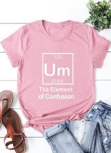 Różowa bluzka Cikelly z krótkim rękawem