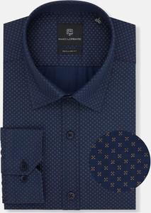 Koszula Pako Lorente z klasycznym kołnierzykiem z tkaniny z długim rękawem