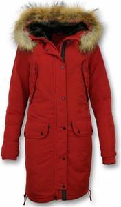 Czerwony płaszcz Gentile Bellini w stylu casual