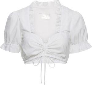Bluzka bonprix z dekoltem w kształcie litery v