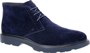 Buty zimowe Hogan ze skóry sznurowane