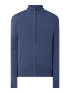Granatowy sweter Esprit w stylu casual z bawełny
