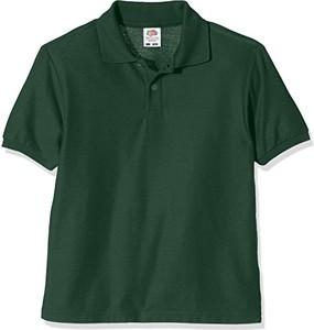 Zielona koszulka dziecięca fruit of the loom