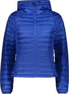 Niebieska kurtka United Colors Of Benetton w stylu casual
