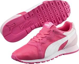 Buty sportowe Puma z płaską podeszwą w sportowym stylu