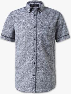 Niebieska koszula ANGELO LITRICO z bawełny