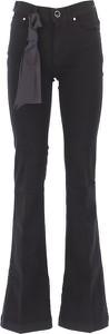Czarne jeansy Jacob Cohen w stylu casual