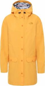 Pomarańczowa kurtka The North Face w stylu casual