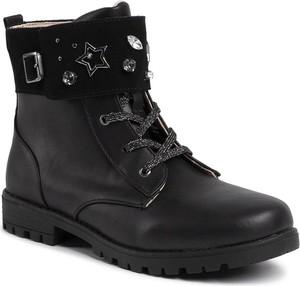 Czarne buty dziecięce zimowe Mayoral