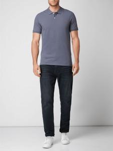 Niebieska koszulka polo Selected Homme w stylu casual z bawełny