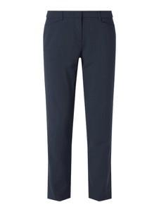 Granatowe spodnie Christian Berg Women w stylu klasycznym
