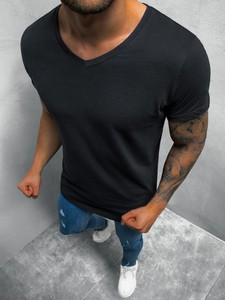 T-shirt BREEZY z bawełny z krótkim rękawem