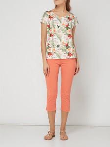 Różowe spodnie Esprit w stylu casual