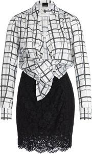 Sukienka Pinko mini z długim rękawem koszulowa