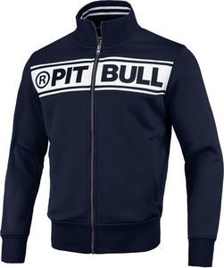 Granatowa bluza Pit Bull w młodzieżowym stylu