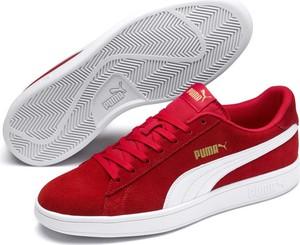 Czerwone buty męskie Puma, kolekcja wiosna 2020
