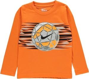 Pomarańczowa koszulka dziecięca Nike