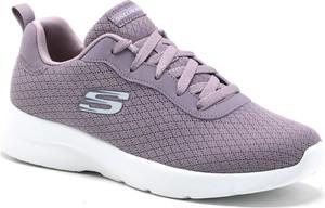 Buty sportowe Skechers w sportowym stylu z płaską podeszwą