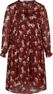 Sukienka Zizzi z długim rękawem w stylu casual