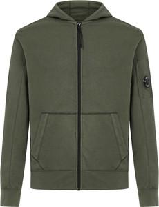 Zielony sweter C.P. Company z bawełny