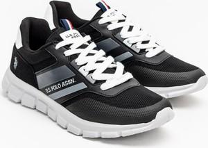 Buty sportowe U.S. Polo w sportowym stylu sznurowane