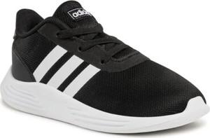 Czarne buty sportowe dziecięce Adidas sznurowane dla chłopców