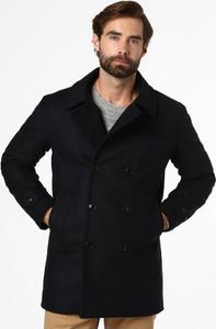 Czarna kurtka Barbour z wełny