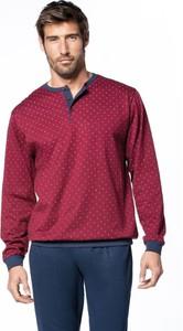 Czerwona piżama Softcotton