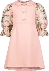 Sukienka dziewczęca Dolce & Gabbana w kwiatki