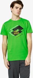 T-shirt Lotto w młodzieżowym stylu z krótkim rękawem