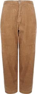 """Spodnie Pinko Spodnie """"cebo"""" z tkaniny w stylu retro"""