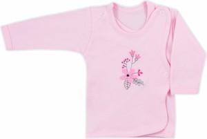 Różowa koszulka dziecięca Koala z bawełny