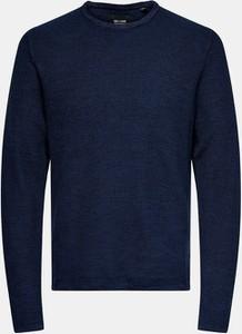 Sweter Only & Sons z okrągłym dekoltem z bawełny