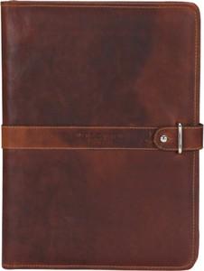 Brązowa torba Velorbis ze skóry