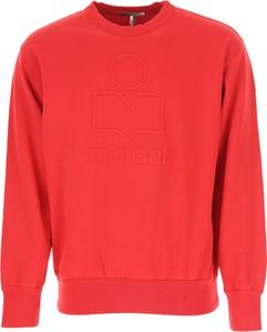 b2c469b7f756e Czerwona bluza Isabel Marant w młodzieżowym stylu z bawełny