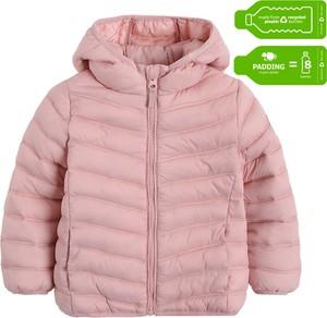 Różowa kurtka dziecięca Cool Club dla dziewczynek