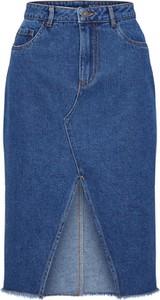 Niebieska spódnica Noisy May