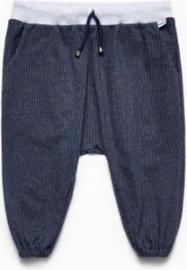 Granatowe spodnie dziecięce Banana Kids dla chłopców