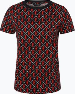 T-shirt Scotch & Soda z krótkim rękawem z okrągłym dekoltem