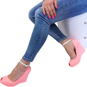 Sandały HAVER na platformie ze skóry