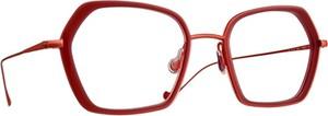 Czerwone okulary damskie Caroline Abram