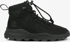 Czarne buty sportowe Timberland sznurowane