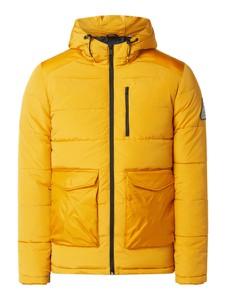 Żółta kurtka Jack & Jones w stylu casual