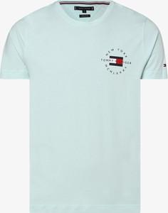T-shirt Tommy Hilfiger z bawełny z krótkim rękawem