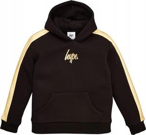 Czarna bluza dziecięca Hype dla chłopców