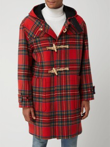 Płaszcz Gloverall z wełny w stylu casual