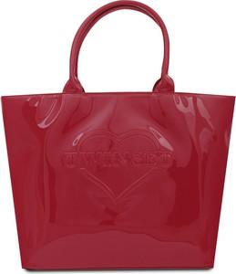 Czerwona torebka Twinset w stylu casual do ręki