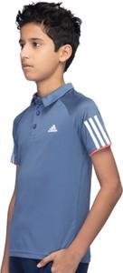 Koszulka dziecięca Adidas Performance z tkaniny z krótkim rękawem