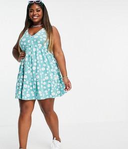 Sukienka Asos w stylu casual koszulowa mini
